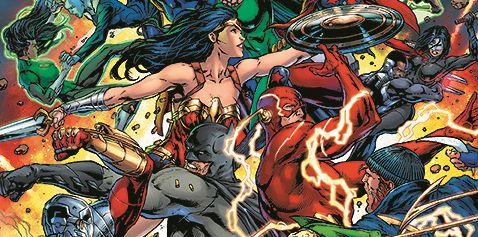 Zobacz plansze z komiksu Liga Sprawiedliwości vs Suicide Squad