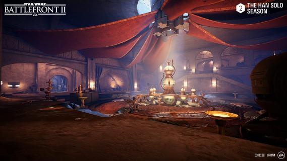 W Star Wars Battlefront II pojawi się pałac Jabby. Szczegóły na temat nowej zawartości