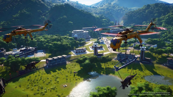 Park otworzył swe podwoje. Zwiastun Jurassic World Evolution
