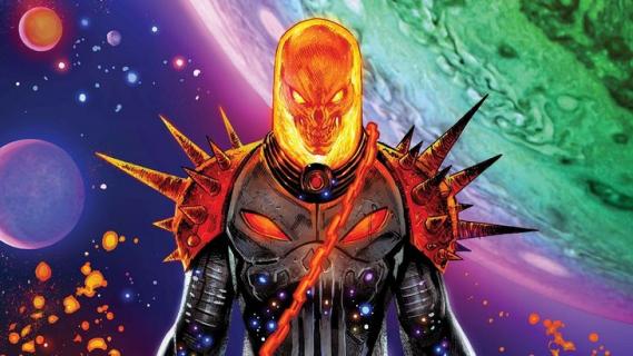 Cosmic Ghost Rider adoptował bobasa. Wychowa łotra, którego kochacie