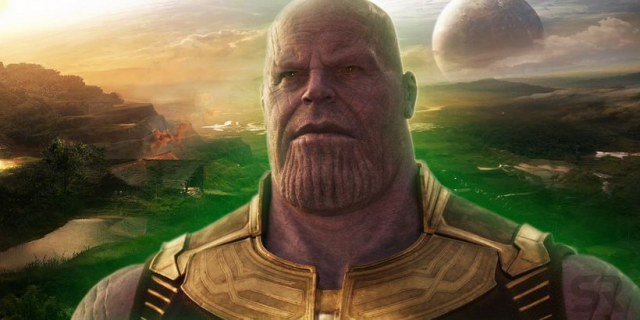Najlepsza rzecz na SDCC 2018? Thanos z MCU na motywacyjnym plakacie