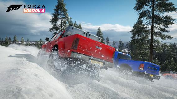 Zima w Wielkiej Brytanii. Obszerny fragment rozgrywki z Forza Horizon 4