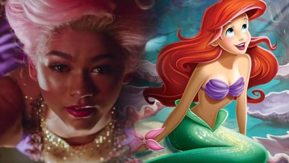 Tak mogłaby wyglądać Zendaya jako Ariel – zobacz grafikę