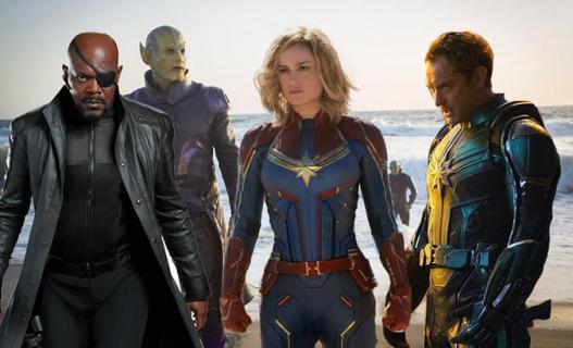 Captain Marvel – jest zwiastun! Superbohaterka idzie na odsiecz MCU