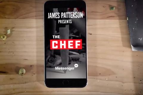 James Patterson kolejną książkę wyda na Messengerze