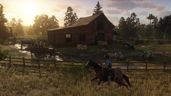 Red Dead Redemption 2 – mapa wyciekła do sieci. Jest ogromna