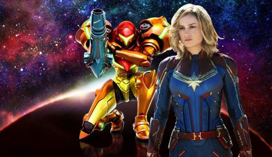 Brie Larson jako Samus Aran z serii Metroid. Zobacz fanart