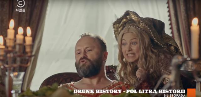 Drunk History – Pół litra historii – 2. sezon startuje 5 listopada