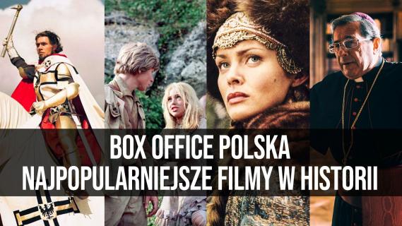 Box Office Polska: Najpopularniejsze filmy w historii