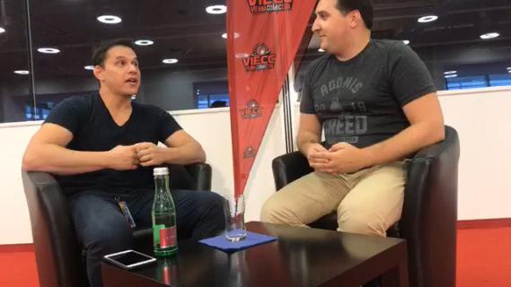 Steve Cardenas o roli w serialach Power Rangers [WYWIAD wideo z Vienna Comic Con]