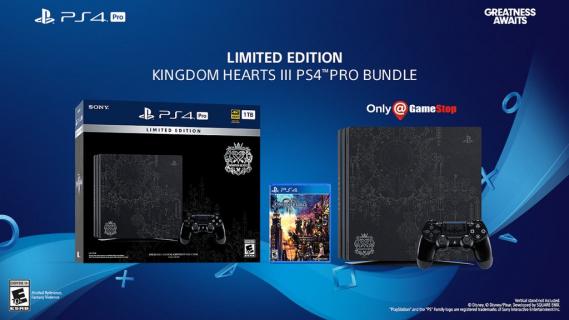 Kingdom Hearts III: Zobacz limitowaną wersję konsoli PlayStation 4 Pro