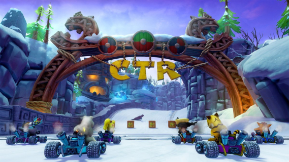 Crash Team Racing Nitro-Fueled na Switch może się spóźnić