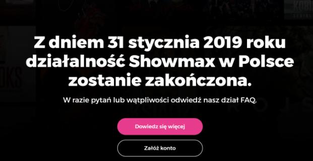 Koniec Showmaxa w pytaniach i odpowiedziach