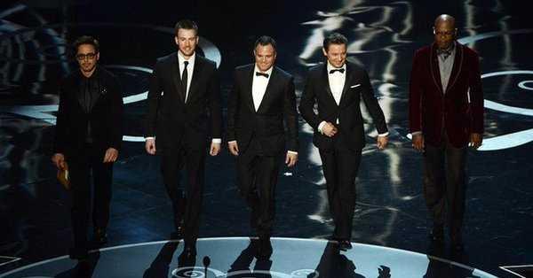 Promocja Endgame: aktorzy z Avengers wręczą Oscary?
