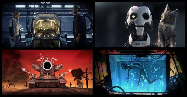 Miłość, Śmierć i Roboty – pierwsze zdjęcia z nowej animacji dla dorosłych Netflixa