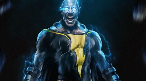 Black Adam - Dwayne Johnson ogłasza datę premiery. Jest pierwsza grafika