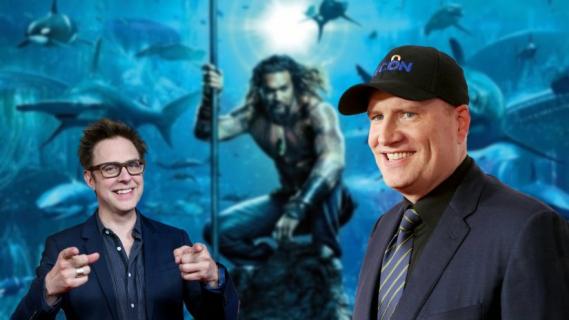 Kevin Feige wspiera Jamesa Gunna i chwali Aquamana