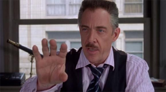 Avengers: Koniec Gry – J.K. Simmons jako J. Jonah Jameson w parodii