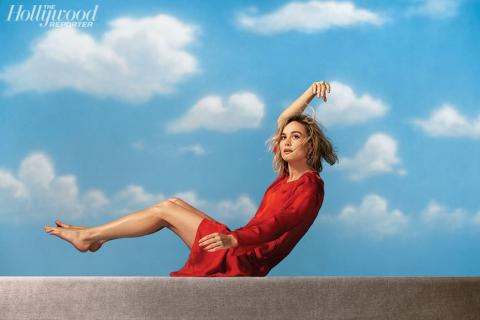 Kapitan Marvel – Brie Larson promuje film w sesji zdjęciowej [ZDJĘCIA]