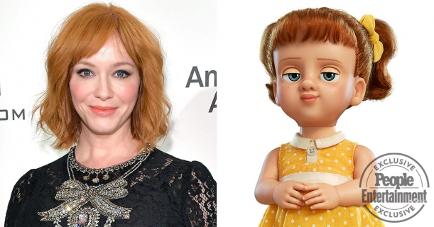 Toy Story 4 – reżyser animacji o Christinie Hendricks i jej roli złowieszczej lalki