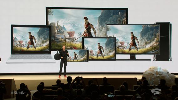 Google Stadia przymierza się do streamowania gier w 4K