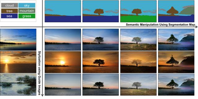 Nvidia stworzyła algorytm, który zamieni prosty szkic w pejzaż