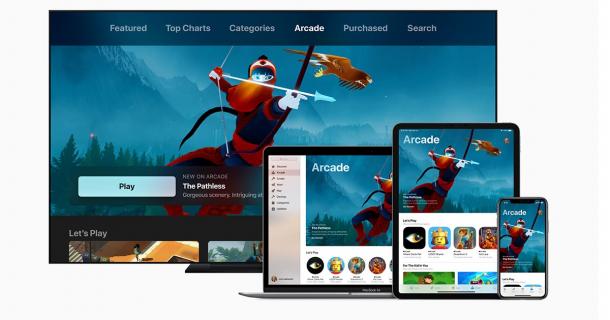 Apple jest czwartą największą firmą gamingową na świecie