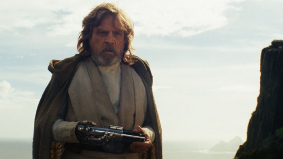 Gwiezdne wojny: ostatni Jedi - Mark Hamill zagrał w filmie nie tylko Luke'a Skywalkera