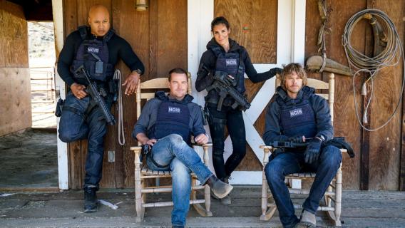 NCIS: Los Angeles - pierwsze zdjęcie z 11. sezonu. Aktorzy z JAG znowu razem