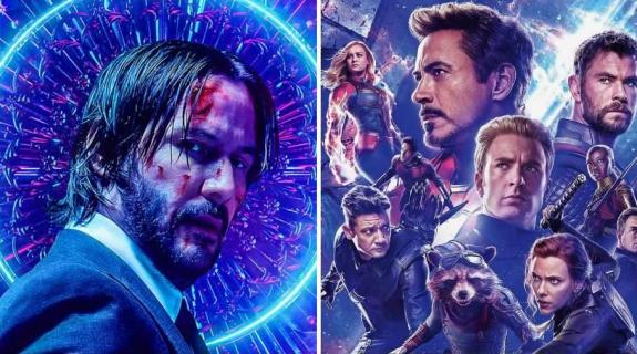 Box Office: John Wick 3 wygrywa weekend. Avengers: Koniec gry w USA bije Avatara