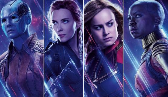 Avengers: Endgame - superbohaterki na nowym zdjęciu z kalendarza na 2021 rok