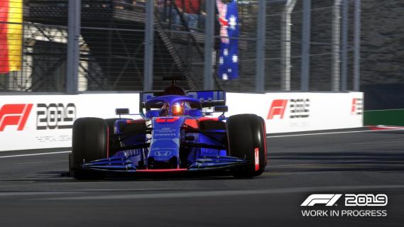 F1 2019 z zawodami Formuła 2 w trybie kariery