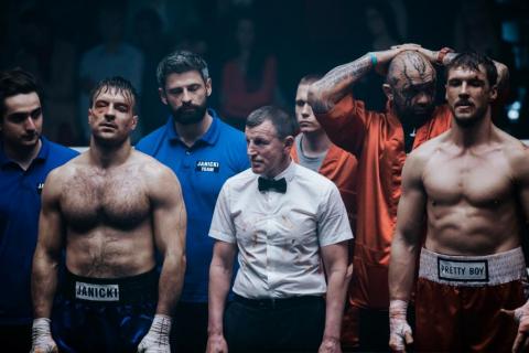 Fighter - Stramowski kontra Roznerski na plakacie filmu