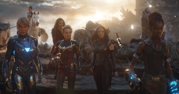 Avengers: Koniec gry - bohaterki MCU w nowym wideo zza kulis filmu