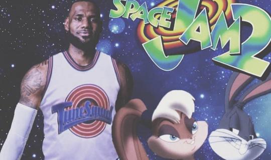 Kosmiczny mecz 2 - LeBron James pokazał się w stroju drużyny Tune Squad. Zobacz wideo