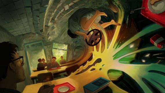 Undone - surrealistyczna animacja od Amazona. Zwiastun serialu z Rosą Salazar