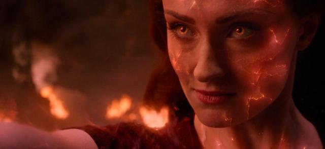 X-Men: Mroczna Phoenix - Jean Grey niczym Kapitan Marvel na szkicu koncepcyjnym z filmu