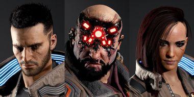 Cyberpunk 2077 - modele postaci. Bohaterowie jak żywi?