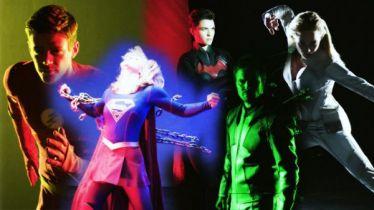 Arrowverse - tajemniczy wróg Flasha. Nowe zdjęcia strojów Green Arrowa i Supergirl