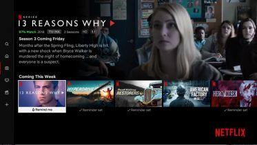 Netflix wprowadza pasek z zapowiedziami