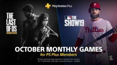 The Last of Us i MLB The Show 19 w październikowym PlayStation Plus