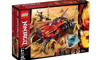 LEGO Ninjago - przegląd oferty związanej z bohaterami animacji