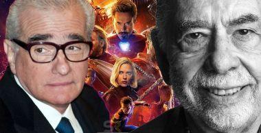 Filmy MCU to nie kino? Francis Ford Coppola popiera Scorsese