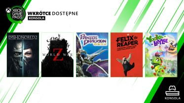 World War Z, Dishonored 2 i 4 inne gry trafią do Xbox Game Pass