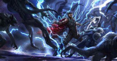 Thor: Ragnarok - szkice koncepcyjne. Jest Surtur, Hela i Hulk