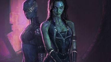 Strażnicy Galaktyki - bohaterowie filmu nie do poznania na szkicach koncepcyjnych