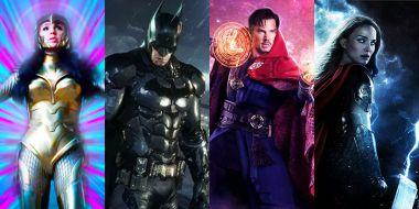 The Batman czy MCU - na które filmy superbohaterskie najbardziej czekacie? Wybierzcie z nami