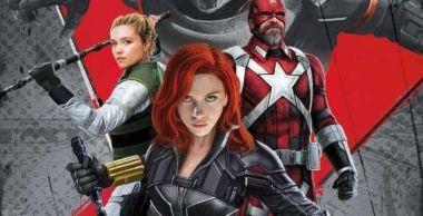 Czarna Wdowa - nowe plakaty promujące film. Red Guardian, Taskmaster i nie tylko