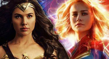 Kapitan Marvel i Wonder Woman na wspólnej grafice. Brie Larson udostępnia zdjęcie