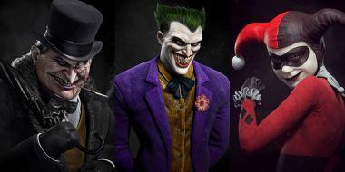 Przeciwnicy Batmana od twórcy God of War. Te grafiki wyglądają kapitalnie